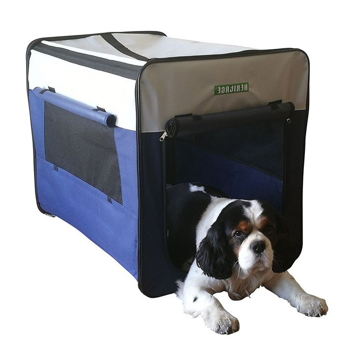 Medium Dog Cage Portable Folding Lightweight Kennel Travel Fabric Durable Crate  | Pet Supplies, Dog Supplies, Transport & Travel | eBay!
