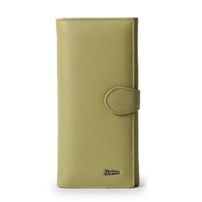 Genuine Leather Hasp Closure with Multi-card Wallets
