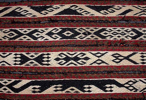 Tablet Weaving | Bakhtiyari band from Iran | Linda Hendrickson