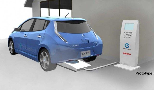 Wireless charging mat  -  Nissan Leaf www.imperionissancapistrano.com