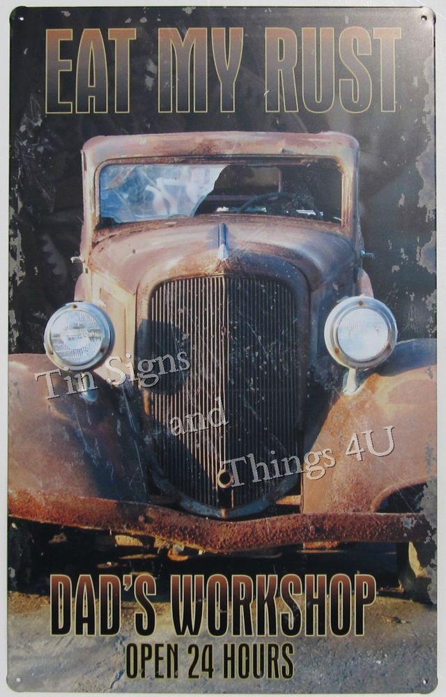Garage Decor Signs 12 Best Retro Vintage Hotrod Garage Decor Images On Pinterest