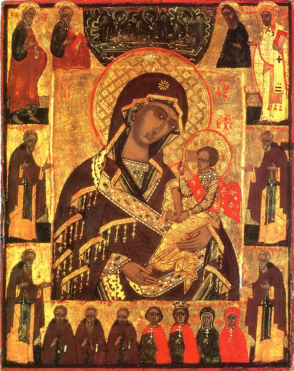 Icon of the Mother of God of Shui - Orthodox Church in America
