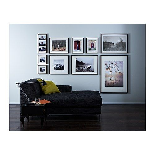 Photo Wall using Ikea frames