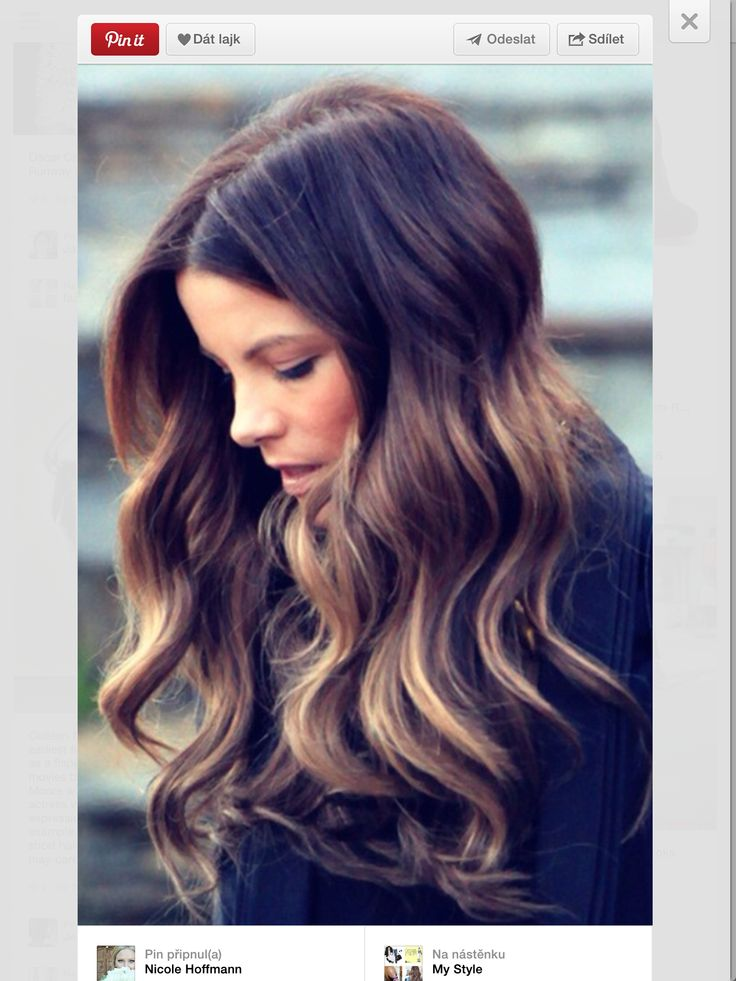 kate beckinsale ombre straight hair wwwimgkidcom the