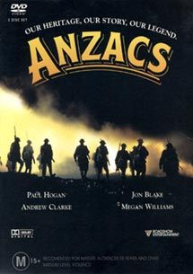 1985 The Anzacs TV series.  This was a great series starring Paul Hogan and Jon Blake.  Loved it!