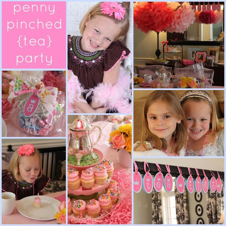 208 Best Images About Tea Party For My Little Girls On