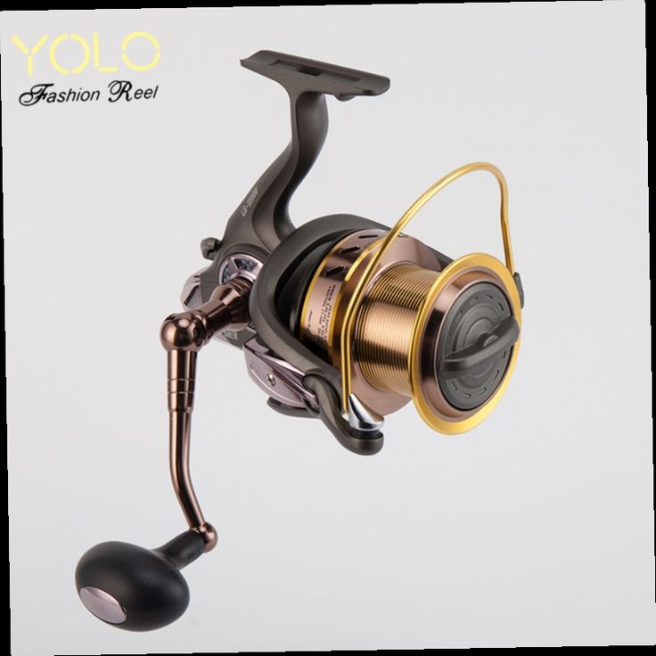 48.60$  Watch now - http://alixgf.worldwells.pw/go.php?t=32662376314 - Yolo Long Shot Fishing Reel New Metal 13+1BB Big 10000/12000  Baitcasting Spinning Fly Reel Sea Salt Water Carretilha Para Pesca