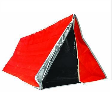 Insulated Aluminized Tube Tent | for Sub Zero Survival #PembertonFest// pembertonmusicfestival.com
