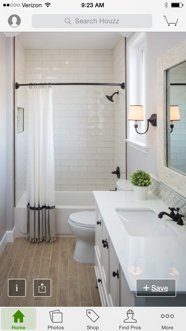 1668 best images about some day soon on pinterest window seats take white fror your bathroom reno would be nice white countertops white cabinets wood flooring and white tile wall cladding