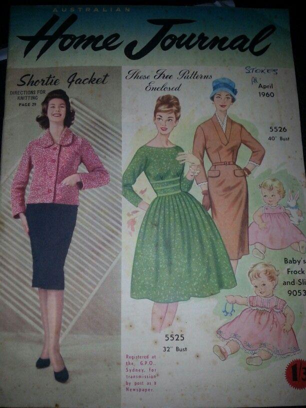Australian home journal April 1960 cover