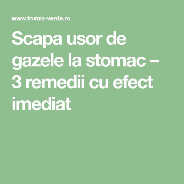 Scapa usor de gazele la stomac – 3 remedii cu efect imediat