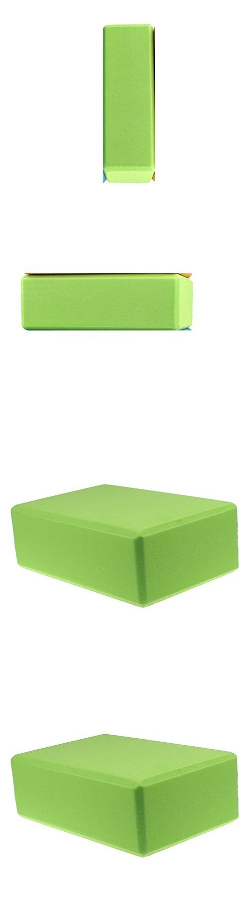 Green Women 1pc Foaming Foam Yoga Block Brick Home Exercise Practice Fitness Gym Sport Fitness Stretching Tool,yoga Block 9x6x4 , Yoga Blocks for Kids, Yoga Blocks 9x6x3,yoga Blocks Bulk,yoga Block 3 Inch ,Yoga Block Thin,yoga Block 4,yoga Block Foam, Yog