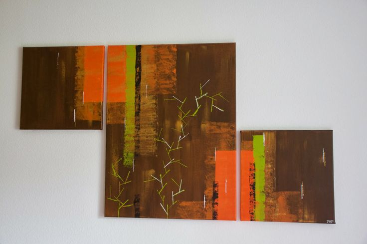 YAY' peintures abstraites