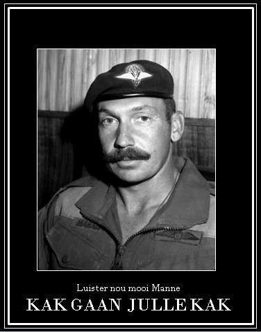 RSM Marais of 1 Parachute Bn. He was a feared man by all ranks.