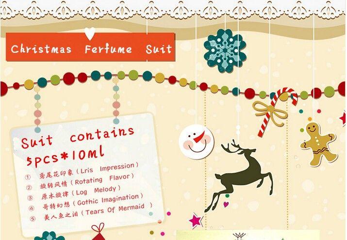 Духи и ароматы для женщин 5 шт. милый подарок коробка зимой прочного свежий аромат рождество летию со дня рождения подарок для подруги купить на AliExpress