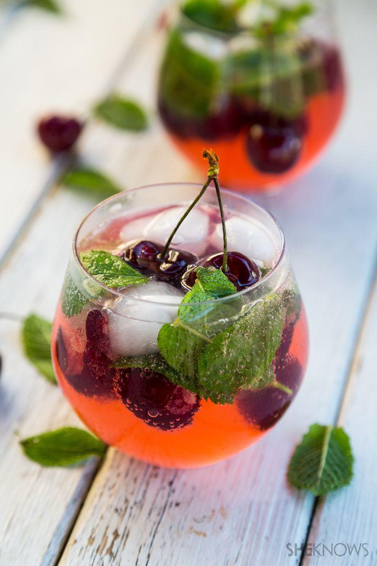 Cherry limoncello
