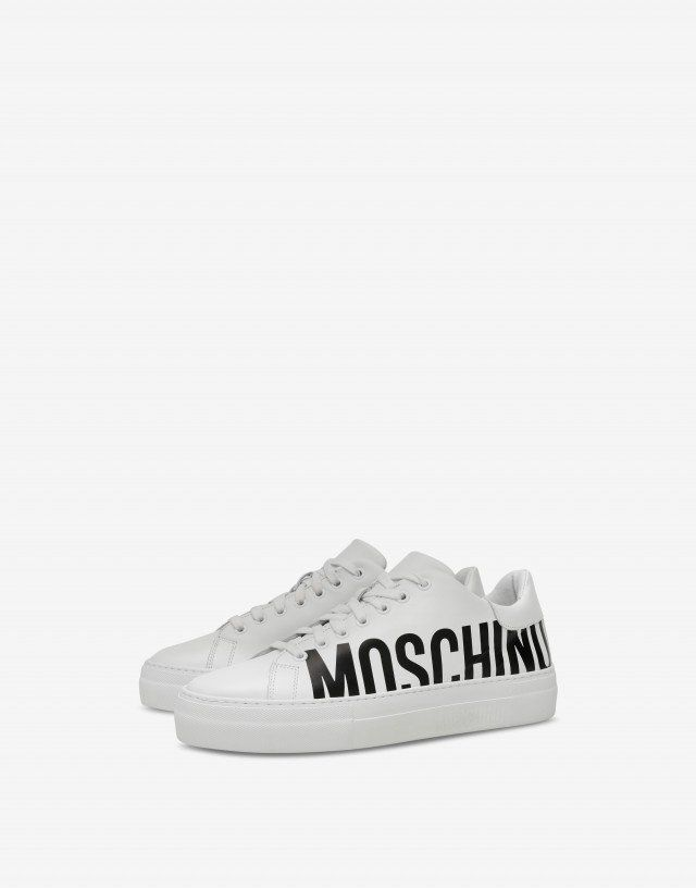 e3fde79a4 Sneakers - Shoes - Men - Moschino | 女性時尚 in 2019 | Shoes ...
