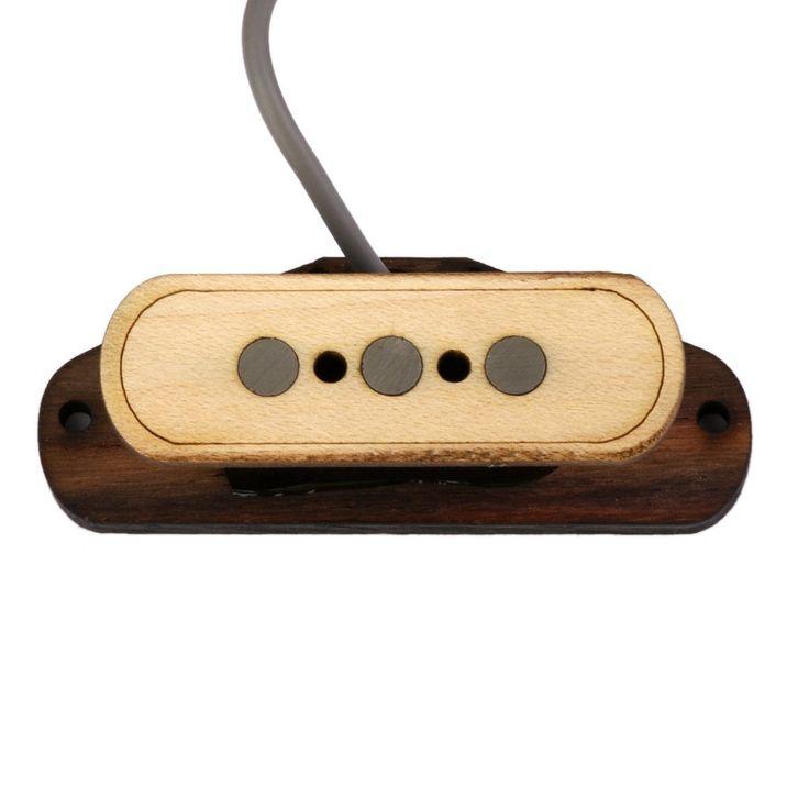 Amazon.co.jp: 【ノーブランド品】ギター用 3弦 シガーボックス ピックアップ: 楽器