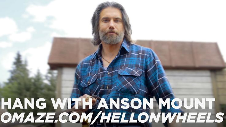 Anson Mount Invites You To The Set of Hell On Wheels