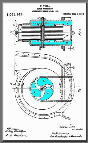 Tesla Turbine Pump (from Internet Glossary of Pumps)