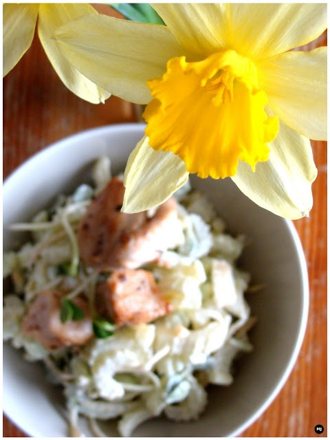 Chicken salad with celery 2