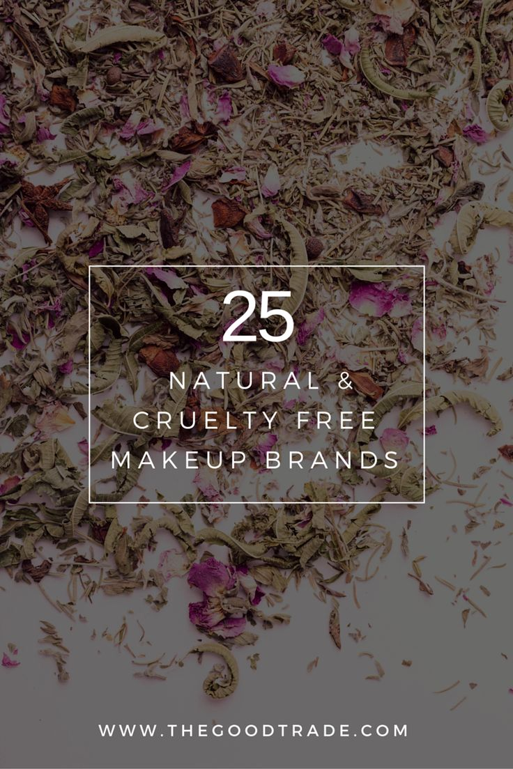 Animal testing is an ugly side of the beauty industry. These 25 Cruelty Free Makeup Brands do not test their cosmetics on animals and many of them use vegan, natural ingredients that are good for you and good for the earth. Click the link to see all brands!