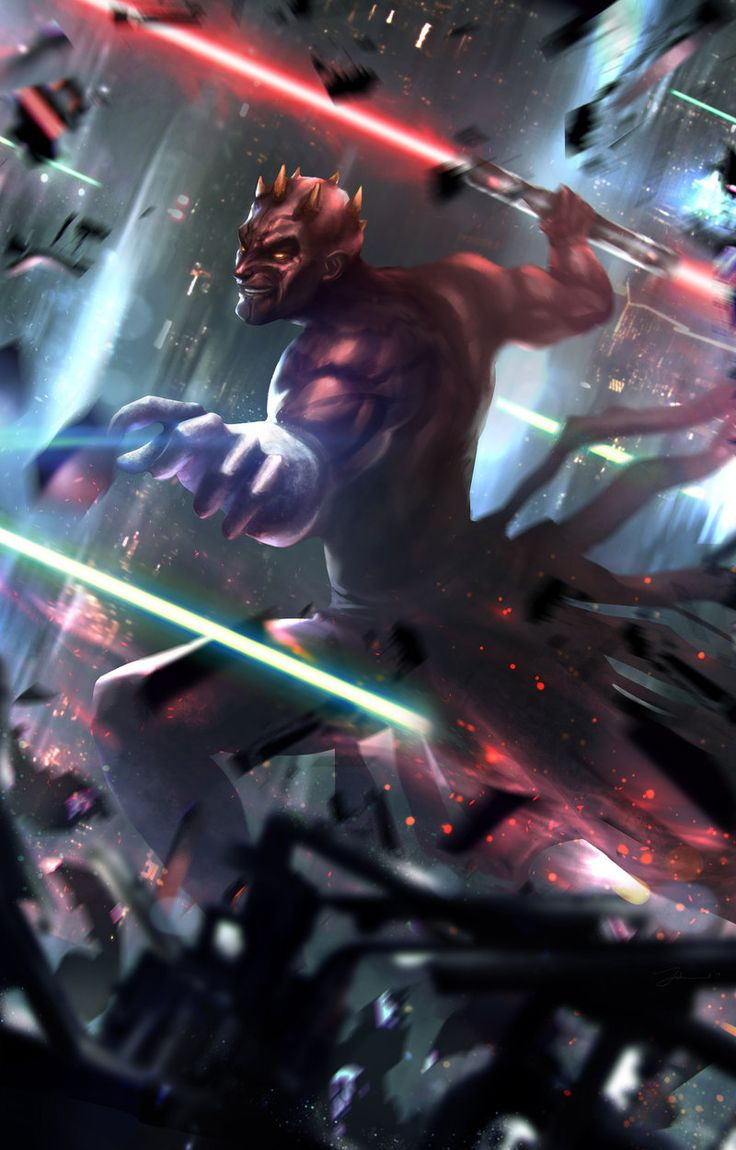 Darth Maul - Johnathan Chong