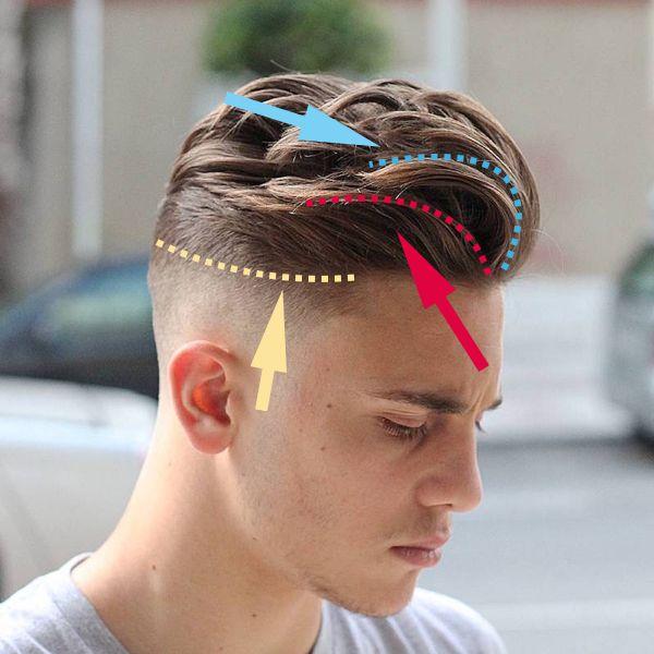 ポンパドール メンズ 海外の画像から学ぶモテる髪型 3選 1選