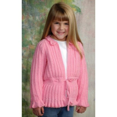 c7606de26b7173 Free Cute Cardigan Knit Pattern - Free Patterns - Books   Patterns ...