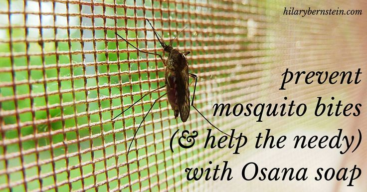 What if you could prevent mosquito bites and help other with soap?