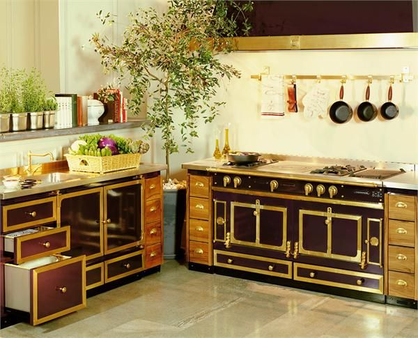 La cornue chateaus and appliances on pinterest - Piano de cuisine la cornue ...