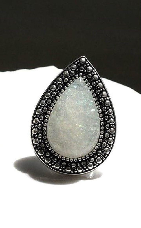 silver frost bohemian bardot ring