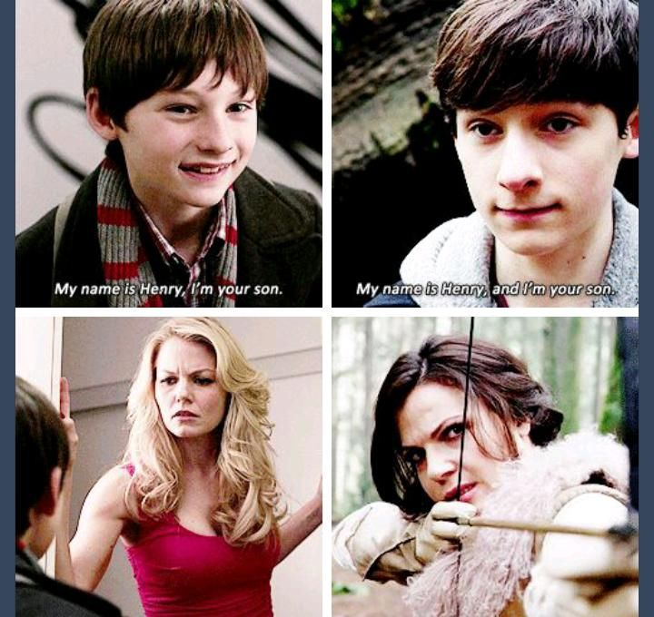 First and most recent episode of Once Upon a Time. I love Henry :)
