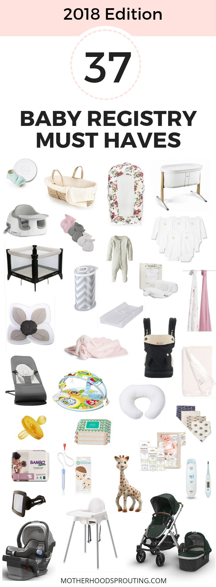 Prepare for your new baby by checking out these 37 baby registry must haves. Use…