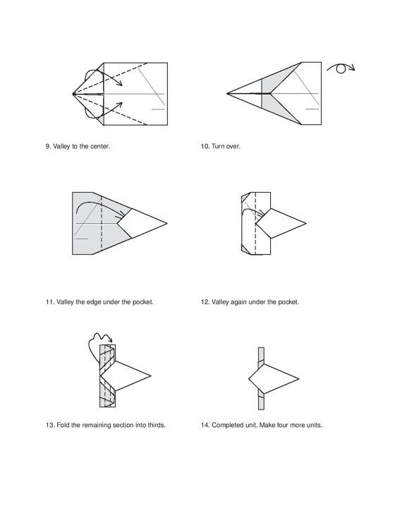 Unusual Origami Diagrams Product Wiring Diagrams