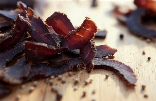 Beef Biltong. Our favourite! Pinned from South African Tourism