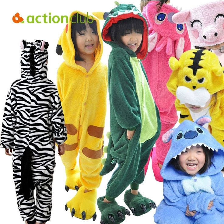 22.20$  Watch now - http://alihm2.shopchina.info/go.php?t=32489666047 - Wholesale Winter Warm Indoor Cute Animal Kids Pajamas Panda Pink Horse Party Pajamas For Boy Baby Girl Cloth Free Shipping KC111  #aliexpressideas