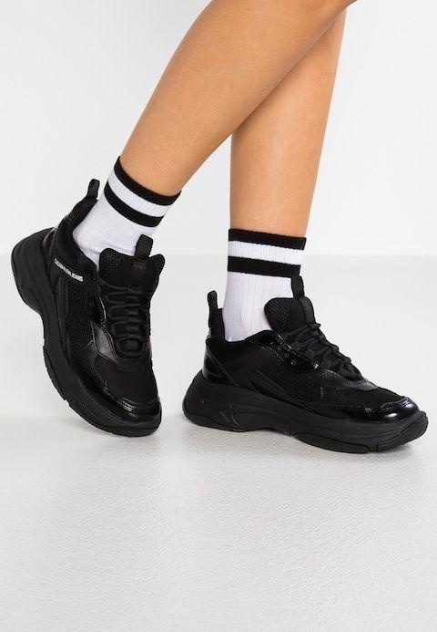 buy popular 97ba1 99869 Calvin Klein Jeans MAYA - Trainers - black - Zalando.co.uk