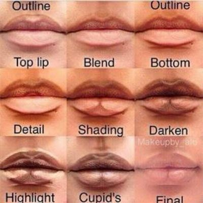 Avoid a ' Kyle Jenner-lip challenge' fail and follow these make-up tips to…