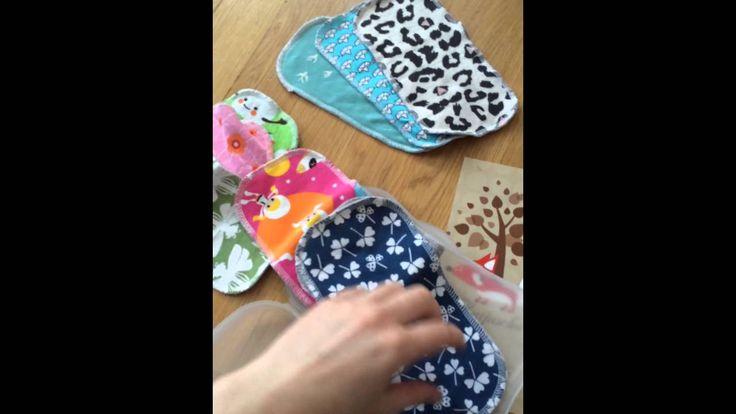 Selbst gemachte Feuchttücher für die Skip Hop Box von Katjuscha Stoffwindeln Stoffwindelberatung - YouTube