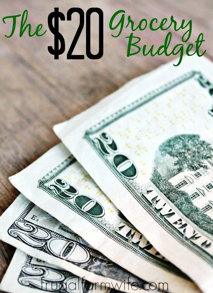 The $20 Grocery Budget That Really Works!