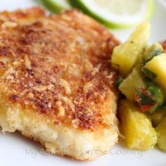 Breaded Baked Swai Fillets Recipe via @SparkPeople