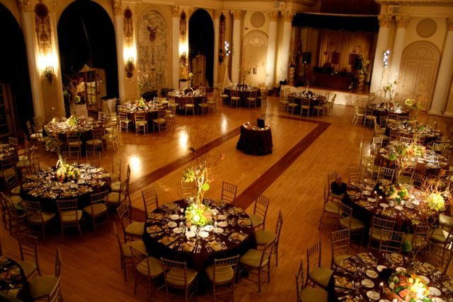 church banquet centerpieces | Wedding Hall Decorations and ...