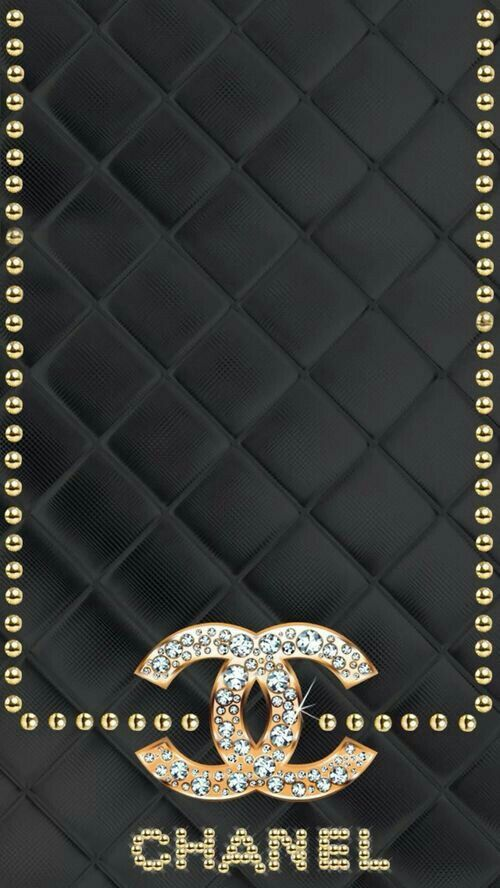 background, chanel, and wallpaper image