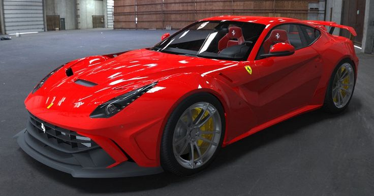 Ferrari F12berlinetta Gets An Aggressive Body Kit From Duke Dynamics #Ferrari #Ferrari_F12berlinetta