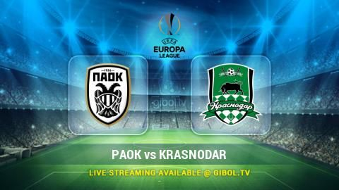 PAOK vs Krasnodar (22 Oct 2015) Live Stream Links - Mobile streaming available