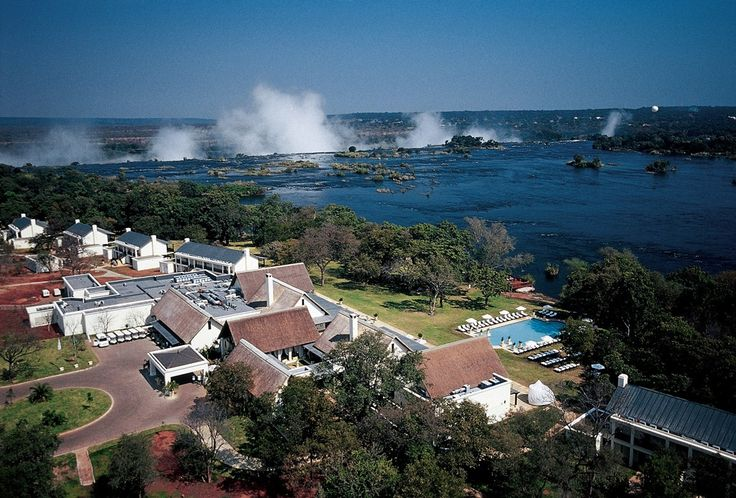 Royal Livingstone Hotel on the banks of the Zambezi River overlooking the mighty Victoria Falls in Livingstone, Zambia, Africa.For more, pick up a paperback or e-book at http://kunzum.com/books. And join us in our journeys at http://kunzum.com. Contact us at wetravel@kunzum.com.