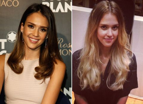 Latina Beauty & Hairstyles: Brunette to Blonde Celebrity Hair Color
