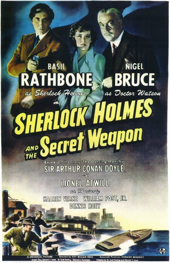 Sherlock Holmes and the Secret Weapon (1943)