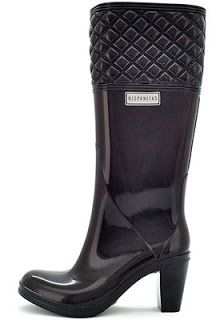 Water boots , botas de lluvia de mujer